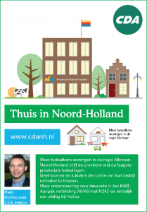 CDA - Thuis in Noord-Holland