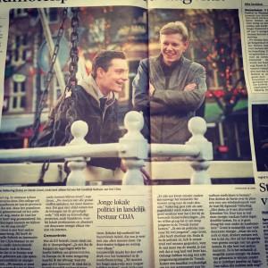 Derek Groot & Klaas Valkering - jong, gedreven en CDA-ers!